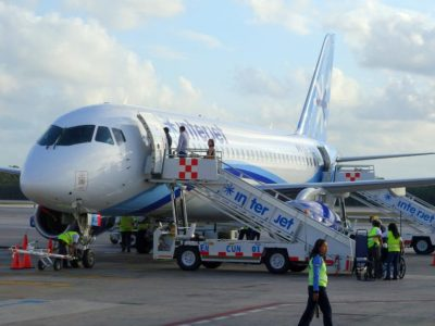 Passengers/crew transports aircraft & terminals